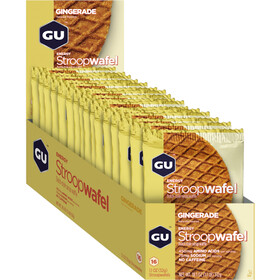 GU Energy Stroop Wafel Box 16x32g, Gingerade
